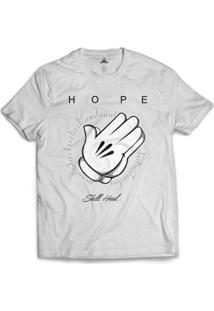 Camiseta Skill Head Hope Masculina - Masculino-Branco