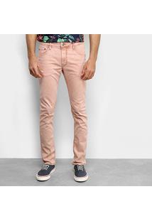Calça Jeans Sommer Skinny Masculina - Masculino-Marrom