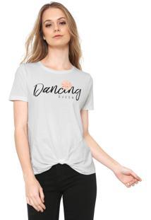 Camiseta Only Dancing Queen Branca