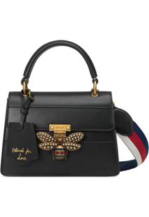 Gucci Queen Margaret Small Top Handle Bag - Preto