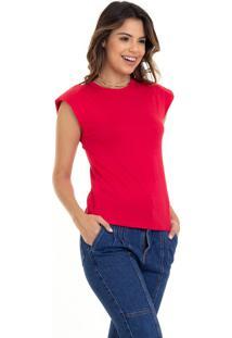 Camiseta Manola Muscle Vermelho