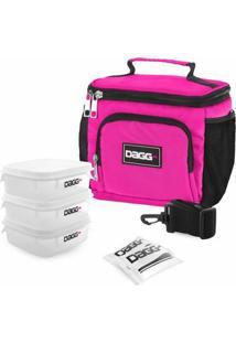 Bolsa Térmica Fitness Dagg 1,5L - Unissex-Rosa