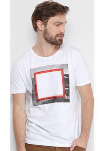 Camiseta Calvin Klein Quadrado Masculina - Masculino