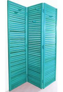 Biombo Dominoes 180 X 105 Azul Mão E Formão