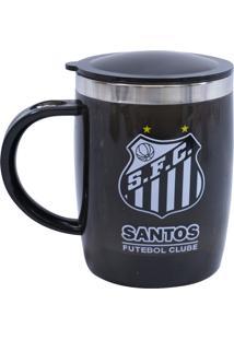 Caneca Minas De Presentes Santos Preto - Kanui