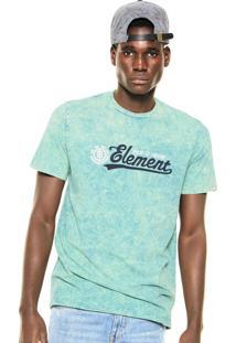 Camiseta Element Made To Endure Verde