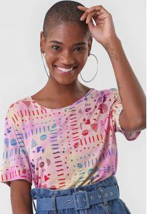 Camiseta Cantão Festival Rosa