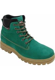 Bota Coturno Atron Shoes Urbana - Masculino-Verde