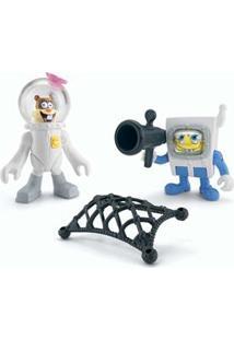Imaginext Mattel Figuras Básicas Bob Esponja & Sandy