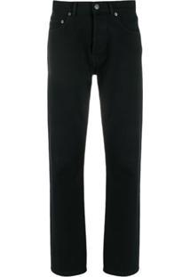 Balenciaga Jaqueta Jeans Com Logo W - Preto