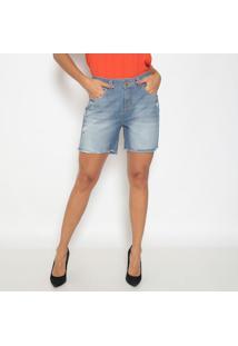 Bermuda Jeans Destroyed- Azul- Doctdoct
