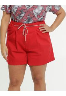 Bermuda Feminina Sarja Plus Size Razon