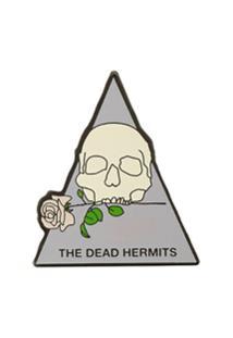 Undercover Botton 'The Dead Hermits' - Branco