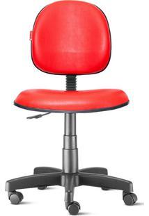 Cadeira Executiva Giratória Courvin Vermelha