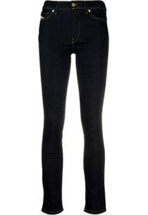 Diesel Calça Jeans Skinny D-Roisin 0098L - Azul