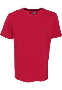 Camiseta Tommy Hilfiger Basic Rosa