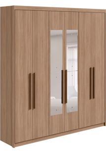 Guarda-Roupa Casal Com Espelho Libra 6 Pt 3 Gv Carvalho