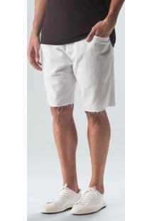 Bermuda 5 Pockets Solid-Branco - 38