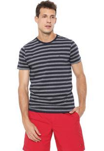 Camiseta Tommy Hilfiger Essential Azul-Marinho