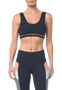 Top Athletic Ck Faixa Costas - Preto - Pp