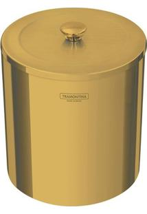 Lixeira ÚTil- Inox & Dourada- 5L- Tramontinatramontina