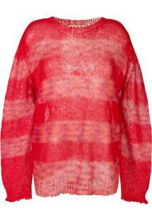 Marni Suéter Listrado - Vermelho