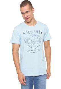 Camiseta Sommer Wild Trip Azul
