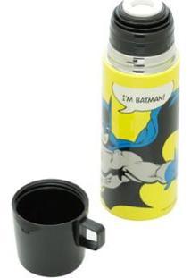Garrafa Térmica Inox Batman Colorido 350Ml