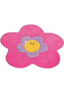 Tapete Formato Premium Big Flor Rosa Guga Tapetes