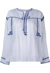 Isabel Marant Étoile Jilcky Vintage Stripe Blouse - Azul