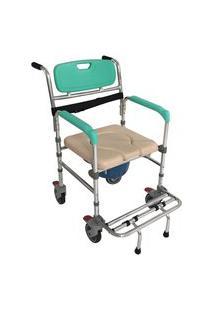 Cadeira De Banho Em Alumínio Fst7801 Rp Zimedical