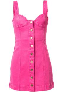 Alice Mccall Vestido Jeans Mystical Moments - Rosa