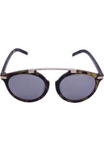Óculos De Sol Khatto Round Caçador Tenro Feminino - Feminino-Caramelo