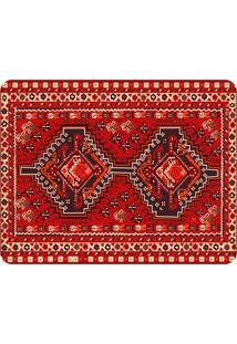 Tapete Love Decor Sala Wevans Persian Carpet ÚNico - Vermelho - Dafiti