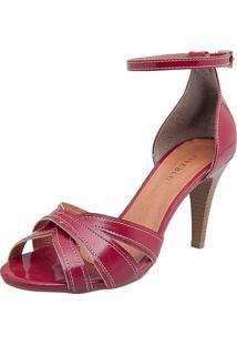 Sandália Fiveblu Alto Fino Vermelha