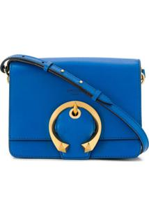 Jimmy Choo Bolsa Tiracolo Madeline - Azul