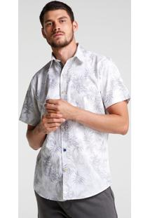 Camisa Tropical Bolso