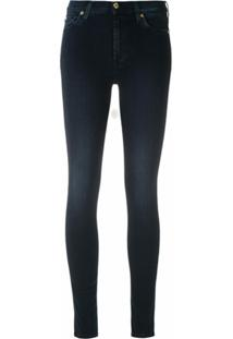 7 For All Mankind Calça Jeans Skinny - Azul