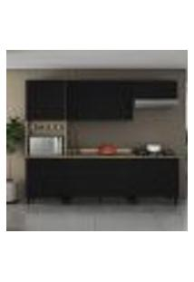 Cozinha Compacta Itamaxi Iv 11 Pt 3 Gv Preta E Castanho