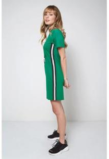 Vestido Midi Âncora Oh, Boy! Feminino - Feminino-Verde