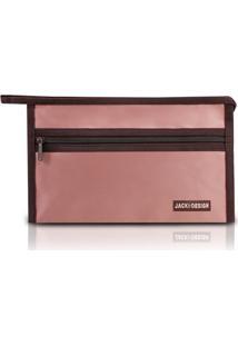 Necessaire Envelope Jacki Design Essencial Iii Rosa - Rosa - Feminino - Dafiti