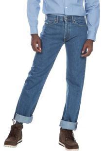Calça Jeans 505 Regular Levis 505489148 - Masculino-Azul