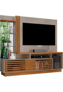 Estante Home Theater Para Tv Até 60 Pol. Frizz Plus Fendi/Naturale - M