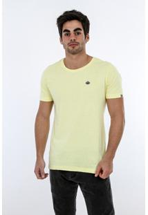 Camiseta Romeo Store Vintage Race Slim Fit - Masculino-Amarelo