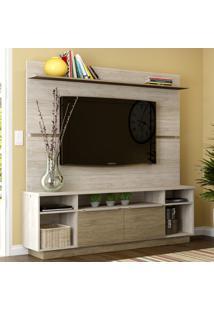 Estante Para Tv Até 65'' 2 Portas Es305 Malbec/Wood - Decibal Móveis