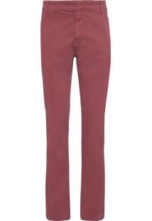 Calça Masculina João - Vermelho