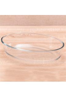 Assadeira Oval Em Vidro Bakew 2,4 Litros
