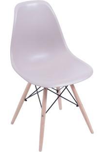 Cadeira Eames Dkr- Fendi & Madeira Clara- 80,5X46,5Xor Design