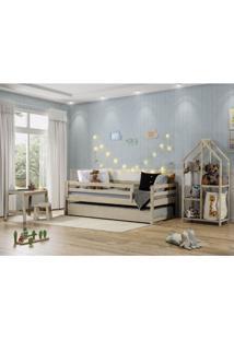 Quarto Infantil Bicama Prime Grade C/Estante E Escrivaninha-Casatema