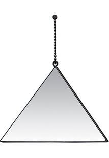 Espelho Triangulo- Espelhado- 26X19X1Cm- Decor Gdecor Glass